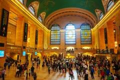 Uroczysty Środkowy Terminal w Nowy Jork Obrazy Royalty Free