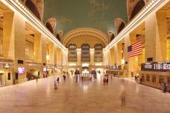 Uroczysty ?rodkowy Terminal w Nowy Jork zdjęcia royalty free