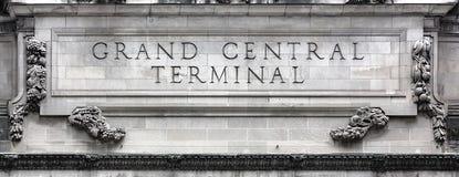 Uroczysty Środkowy Terminal w NYC Obraz Royalty Free