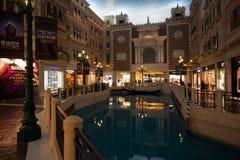 Uroczysty rozrywka kompleks Wenecki w Macao. obraz royalty free