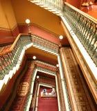 uroczysty schody Fotografia Royalty Free
