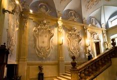 Uroczysty schody - Isola Bella, Lago Maggiore, Włochy Obrazy Royalty Free