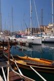 Uroczysty schronienia Marina, Malta Zdjęcia Royalty Free