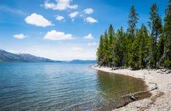 Uroczysty Teton - jezioro Fotografia Royalty Free