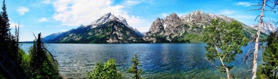 Uroczysty Teton parka narodowego usa obrazy royalty free