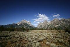 Uroczysty Tetons park narodowy, Wyoming Obrazy Royalty Free