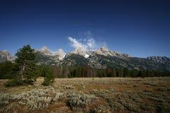 Uroczysty Tetons park narodowy, Wyoming Zdjęcie Stock