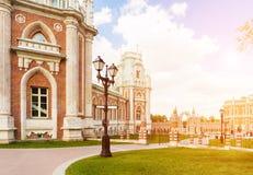 Uroczysty Tsaritsyno pałac Zdjęcia Royalty Free