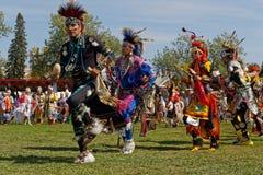 Uroczysty wejście 49th roczny Zlany plemienia Pow no! no! zdjęcie royalty free