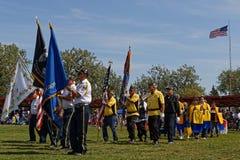 Uroczysty wejście 49th roczny Zlany plemienia Pow no! no! fotografia stock