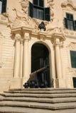 Auberge De Castille. Valletta, Malta. Zdjęcia Royalty Free