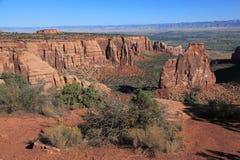 Kolorado Krajowy zabytek   Fotografia Stock
