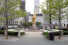 Uroczysty wojsko plac, Miasto Nowy Jork zdjęcia royalty free
