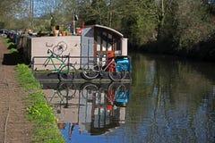 Uroczysty Zrzeszeniowy kanał przy Rickmansworth Zdjęcia Royalty Free