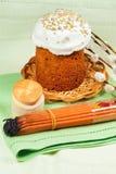 uroczystych Easter chlebowe świeczki Fotografia Stock
