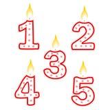 urodzinowa świeczka Zdjęcie Stock