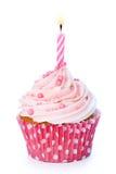 urodzinowa babeczka zdjęcie stock