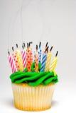 Urodzinowa Babeczka zdjęcia royalty free