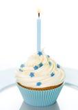 urodzinowa babeczka Obrazy Royalty Free