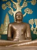 urodzinowa Buddha nakhon parka pathom prowincja s Thailand Obraz Royalty Free