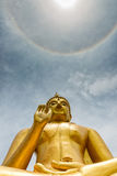urodzinowa Buddha nakhon parka pathom prowincja s Thailand Fotografia Royalty Free