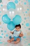 urodzinowa chłopiec Zdjęcie Royalty Free