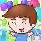 Urodzinowa chłopiec Obrazy Stock