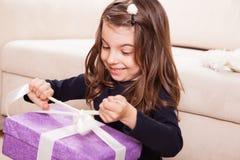 Urodzinowa dziewczyna Obraz Stock