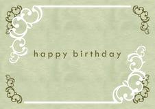 urodzinowa karta Obraz Royalty Free