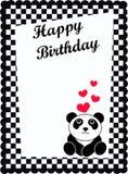 urodzinowa karta Zdjęcia Royalty Free