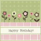 urodzinowa karta Fotografia Stock