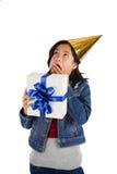 Urodzinowa niespodzianka Fotografia Royalty Free