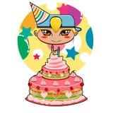 urodzinowa odświętność Obrazy Royalty Free