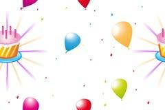 urodzinowa tekstura Zdjęcie Stock
