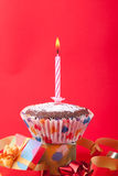 urodzinowa świeczka Obraz Royalty Free
