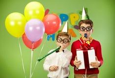 urodzinowa zabawa Obraz Stock