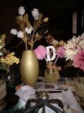 Urodzinowe dekoracje zdjęcie royalty free