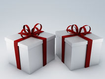 Urodzinowego prezenta pudełko ilustracji
