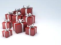 Urodzinowego prezenta pudełko 3d ilustracja wektor