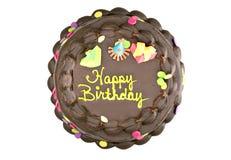 urodzinowego torta czekolada Zdjęcia Stock