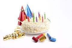 urodzinowego torta przyjęcia materiał Obrazy Stock