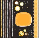 urodzinowej karty śliczny szczęśliwy również zwrócić corel ilustracji wektora Fotografia Stock
