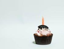 urodzinowej karty babeczki powitanie szczęśliwy Zdjęcia Stock