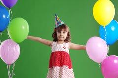 urodzinowi dzieci Obrazy Royalty Free