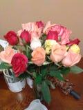 Urodzinowi kwiaty fotografia royalty free