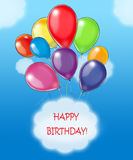 urodzinowi szczęśliwi życzenia Zdjęcia Stock