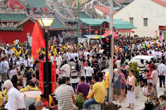 urodzinowy świętowania choon bóstwa kong ong teck Fotografia Stock