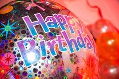 urodzinowy balonowy szczęśliwy Obraz Stock