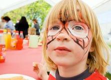 urodzinowy dziecka twarzy farby przyjęcie Zdjęcia Royalty Free