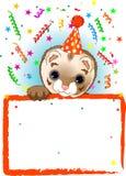 urodzinowy polecat ilustracji
